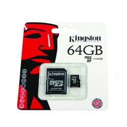 KINGSTON mikro SDXC karta SD CARD 64GB