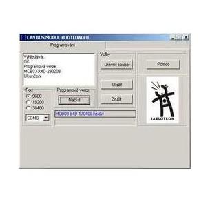 BL-MCB - Bootloader programátor pre CAN BUS prevodník MCB-01