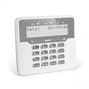Satel VERSA-LCDM-WRL bezdrôtová LCD klávesnica s RFID