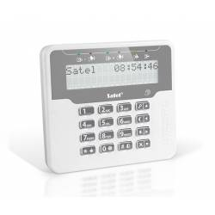 Satel VERSA-LCDR-WH LCD klávesnica s RFID