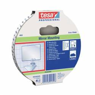 Obojstranná lepiaca páska, biela, vodeodolná TESA DOUBLE 5x19