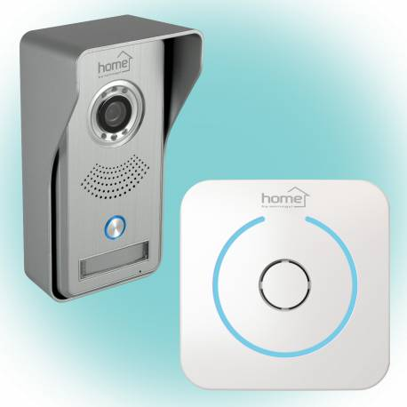 DPV WIFI Home SMART vchodový videotelefón, WiFi, bezdrôtový zvonček