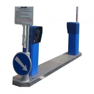 Entry PO-3800 UNI-W samonosný oceľový skelet pre parkovacie automaty