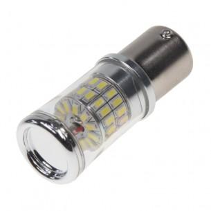 TURBO LED 12-24V s paticí BA15S, 48W bílá