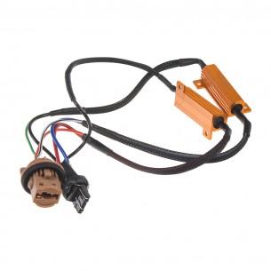 Rezistor pro žárovku T20 (7443) 12V/21W, 6 ohm, hliníkové pouzdro