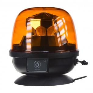 AKU LED maják, oranžový, magnet, ECE R10, R65