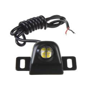 LED světlo couvací černé, 12 - 24V
