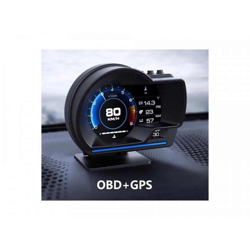 Palubní DISPLEJ SPORT LCD, OBDII, FULL + GPS